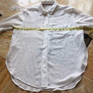 Free People gossamer Lightweight button down tunic